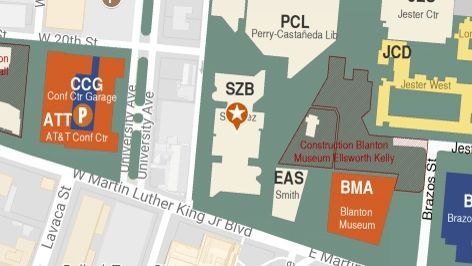 Building map location for College of Education, Student Dean's Office
